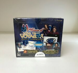 Women of Star Trek Voyager HoloFEX - Sealed Trading Card Hobby Box - 2001
