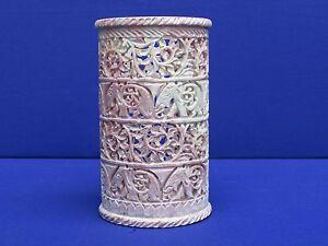 Marble Vase Handicraft Grill Work art Flower Pot Home decorative Gifts Handmade