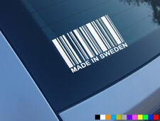 MADE in Svezia Divertente Auto Adesivo Vinile Decalcomania Finestra Novità VOLVO SAAB T5 9-3 95