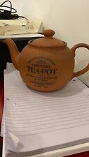 THE ORIGINAL SUFFOLK COUNTRY KITCHEN TERRACOTTA TEA POT HENRY WATSON POTTERY