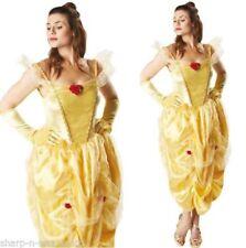 Disfraces de mujer de color principal amarillo, princesa
