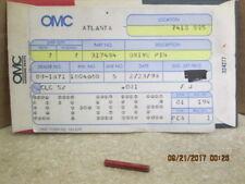 New Old Stock #317484 Drive Pin Evinrude/Johnson OMC