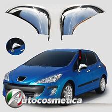 Cover Calotte cromate copri specchietti cromati Peugeot 207 308 acciaio 06-2013