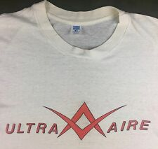 Vintage Mens M 80s Ultra-Aire Ultralight Aircraft Plane Air Show Hanes T-Shirt