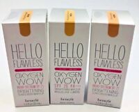 BENEFIT HELLO FLAWLESS OXYGEN WOW SPF25 BRIGHTENING  MAKEUP 1OZ/30 ML YOU PICK!