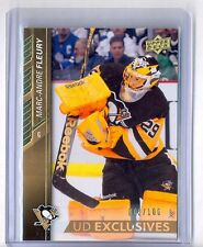 2015-16 UD SERIES ONE EXCLUSIVES PARALLEL #146 MARC-ANDRE FLEURY 2/100