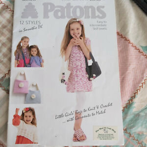 Knitting pattern book - Patons 3805 - 12 styles in DK for 2 to 12 years,