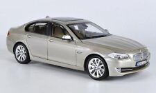 WELLY 1:24 W/B BMW 535I Diecast Car Model Gold Color