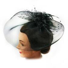 Fascinator - Flower Net Mesh Hair Clip (STS01002)