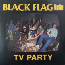"""Black Flag - TV Party 7"""" lp - CLASSIC HARDCORE PUNK - new copy - HENRY ROLLINS"""