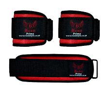 Boom néoprène gel weightlifting support de poignet enveloppe sangles Gym Fitness Band paire