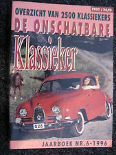 Haakman Book De Onschatbare Klassieker Jaarboek Nr.6 - 1996 (Nederlands)