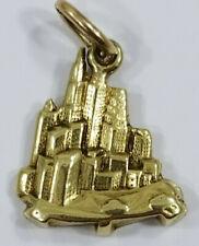 Vintage 14K Gold ~SLOAN CITY SKYLINE~ Charm