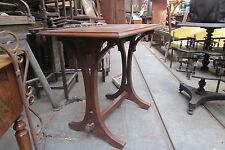 ancienne petite table art nouveau acajou epoque 1900 bureau bistrot