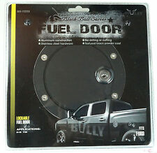 04-08 FORD F150 F-150 BULLY BLACK ALUMINUM REPLACEMENT GAS FUEL DOOR WITH LOCK
