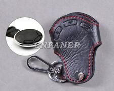 Genuine Leather Remote Key Holder Case Cover for BMW Mini Cooper R55 R56 R57 R60