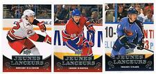 10-11 ZAC DALPE UD 1 FRENCH YOUNG GUNS SHORT PRINTED RC #212 HURRICANES