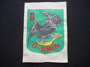 "Vietnam War Silk Patch ARVN 8th Marine Infantry Battlalion ""O BIEN"" Sea Eagle"