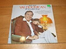 VAL DOONICAN - Relax with VAL DOONICAN 20 Beautiful - 1982 20-track vinyl LP