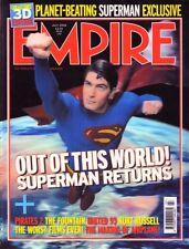 Empire Magazine #205 Superman Pirates 2 United 93 Kurt Russell Airplane
