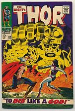 Thor #139 (1967) Fine Plus (6.5) ~ Versus Ulik ~ Silver Age ~ Marvel