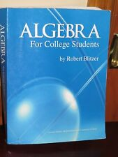 Algebra For College Students By Ralph Blitzer Custom Edit. For Queensborough C C