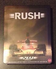 RUSH Blu-Ray SteelBook KIMCHIDVD Korea 1/500 Region Free Ron Howard New OOP Rare