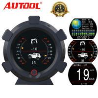 GPS Neigungsmesser Gradient Neigung Steigung Tachometer Neigungswinkel alle Auto