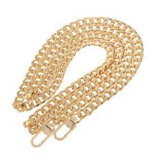 120cm Umhängetasche Strap Griff Tasche Ketten Ersatz für DIY Tasche Gold