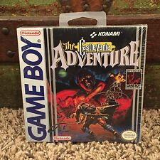 CASTLEVANIA ADVENTURES Nintendo GAMEBOY game 1989 - BRAND NEW Sealed H-SEAM NIB