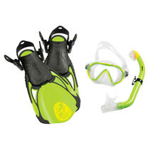 MARES SET SEA FRIENDS JUNIOR MASK, FINS, SNORKEL GREEN
