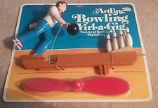 NEW ArtLine BOWLING Wirl-A-Gig Man Bowler and Pins Lawn and Garden Décor 1993