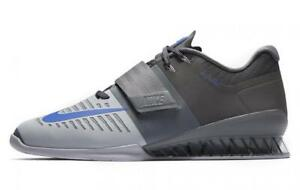NIKE Romaleos 3 Weightlifting Powerlifting Shoes Gewichtheben Schuhe Grey