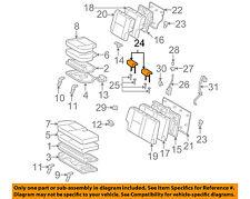 TOYOTA OEM 11-14 FJ Cruiser Rear Seat-Headrest Head Rest 7194035641B0