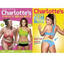 Charlotte Crosby - Fitness DVD Double Pack - 3 Minute Bum & Belly Blitz