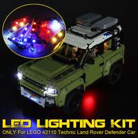 LED Light Kit ONLY For LEGO 42110 Technic Land Rover Defender Car Brick  q ˜. *