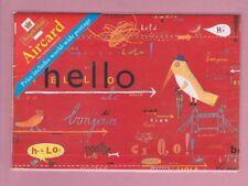 Great Britain, Aircard for world-wide postage, Pre-paid envelope Hello