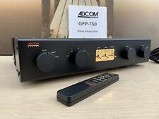 ☆ Adcom Gfp-750 Stereo Preamplifier, Blue Board, Excellent condition + Remote ☆
