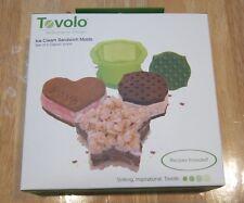 Tovolo Ice Cream Sandwich Molds - Set of 3 - New