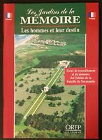 Les jardins de la mémoire orep Editions, 1999, TBE. RARE !!! Histoire, guerre