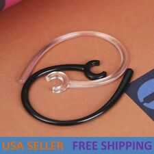 2X-10X Clear Bluetooth Headset Receiver Clip Clamp Holder Ear Hook Loop Replace