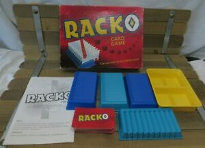1997 Parker Brothers RACKO Card Game, 100% COMPLETE