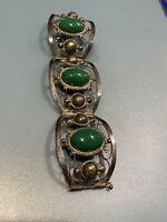 Vintage Navajo Sterling Silver Turquoise  Bracelet
