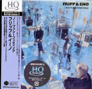 Fripp & Eno-No Pussy Footing-Japan 2 Mini LP Hqcd J50