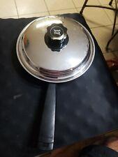 Lifetime Stainless Steel 8.5 in Skillet Fry Pan w/ Lustre craft lid