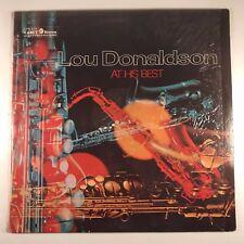 Lou Donaldson – At His Best VG / VG+ VINYL LP Jacket In Shrink Cadet LPS-815