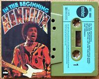 JIMI HENDRIX - IN THE BEGINNING (EMBER ZCE5068) 1973 UK CASSETTE TAPE EX!!