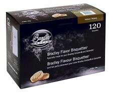 Bradley BTHC120 Hickory Bisquettes 120 pack Smoker Wood Chips FREE SHIP NEW