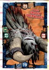 48 - Dragos Großer Überwilder - Drachen Karte - Dragons 3 - Die geheime Welt
