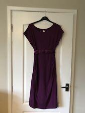 Picchu Purple Plum Sz 1 Stretch Beautiful Dress Maternity Occasion Summer Cruise
